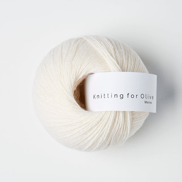 Knitting for Olive Merino - Naturhvid