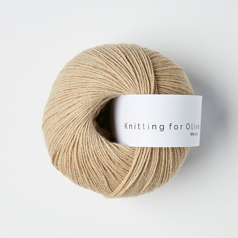 Knitting for Olive Merino - Sand