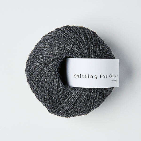 Knitting for Olive Merino - Skifergrå