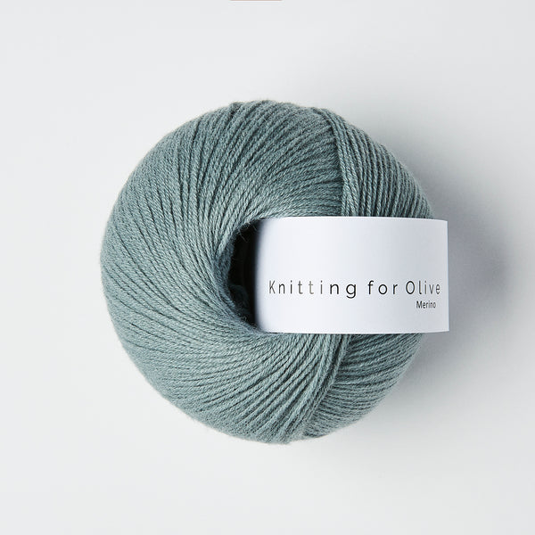 Knitting for Olive Merino - Støvet Aqua