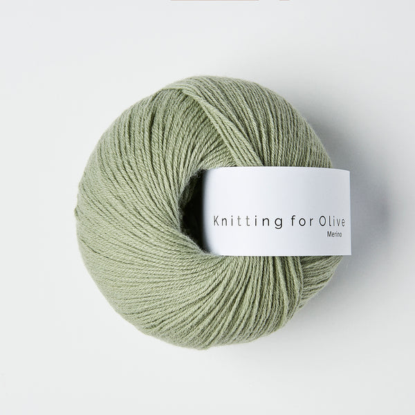 Knitting for Olive Merino - Støvet Artiskok