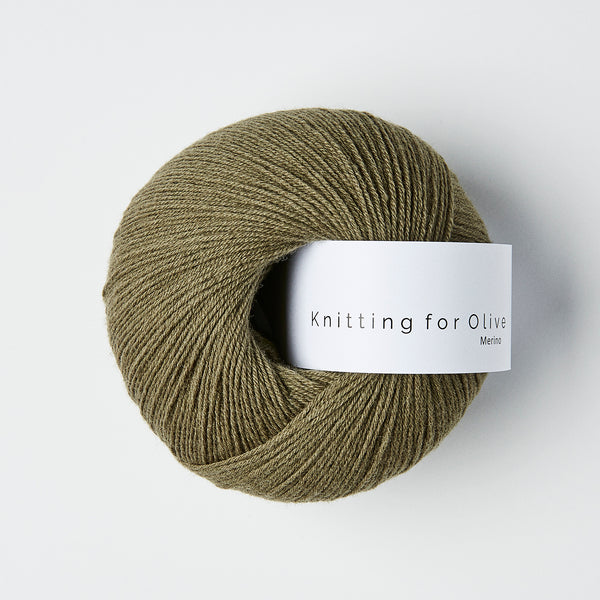 Knitting for Olive Merino - Støvet Oliven