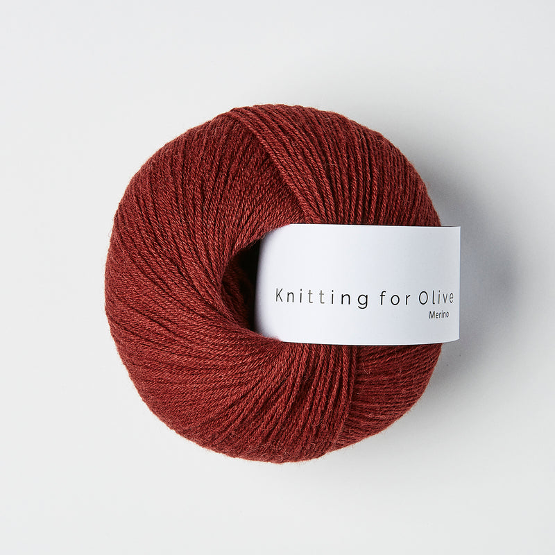 Knitting for Olive Merino - Vinrød