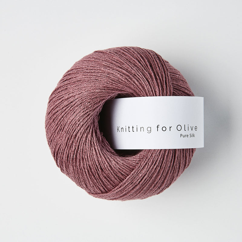Knitting for Olive Pure Silk - Blomme