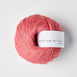 Knitting for Olive Pure Silk - Hindbærpink