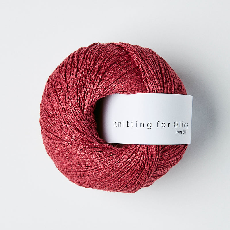 Knitting for Olive Pure Silk - Kirsebær