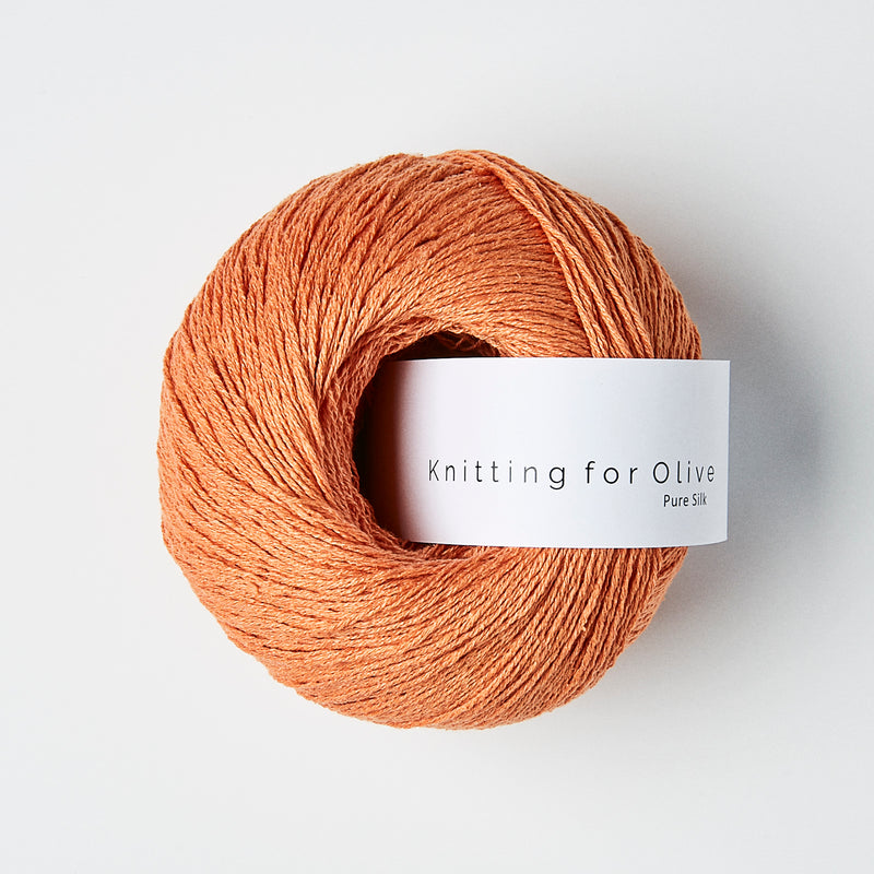 Knitting for Olive Pure Silk - Mandarin