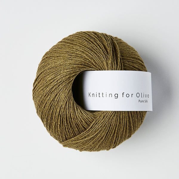 Knitting for Olive Pure Silk - Oliven