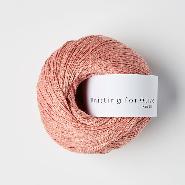 Knitting for Olive Pure Silk - Rabarbersaft