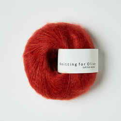Knitting for Olive Soft Silk Mohair - Granatæble