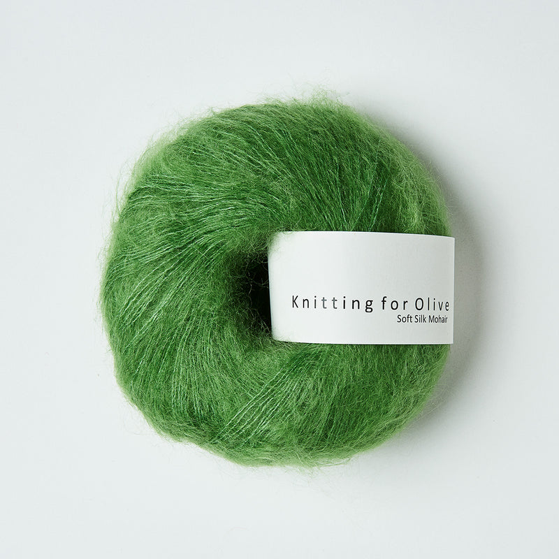 Knitting for Olive Soft Silk Mohair - Kløvergrøn