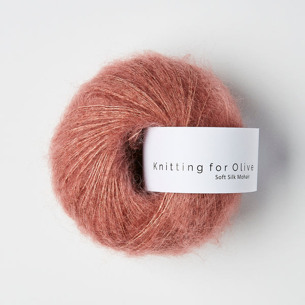 Knitting for Olive Soft Silk Mohair - Blommerosa