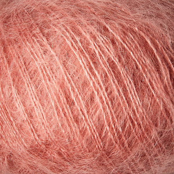 Knitting for Olive Soft Silk Mohair - Flamingo