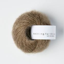 Knitting for Olive Soft Silk Mohair - Hasselnød