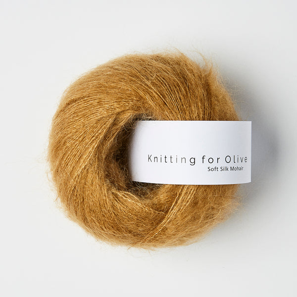 Knitting for Olive Soft Silk Mohair - Karamel