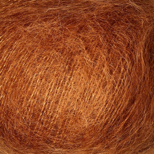 Knitting for Olive Soft Silk Mohair - Kobber