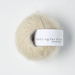 Knitting for Olive Soft Silk Mohair - Marcipan