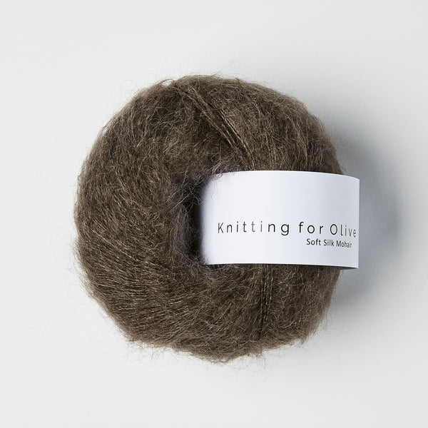 Knitting for Olive Soft Silk Mohair - Mørk Elg