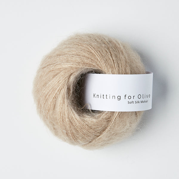 Knitting for Olive Soft Silk Mohair - Pudder