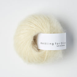 Knitting for Olive Soft Silk Mohair - Råhvid