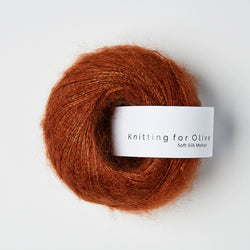 Knitting for Olive Soft Silk Mohair - NY Rust