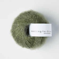 Knitting for Olive Soft Silk Mohair - Støvet Søgrøn