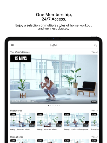 LUXE Fitness Classes - 7 Day Access