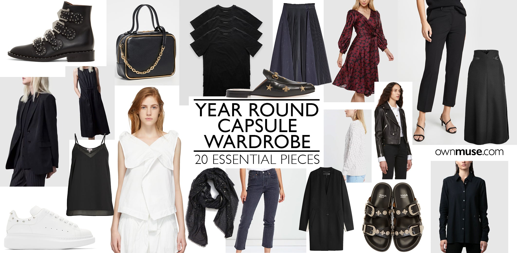 Essential 20 Piece Capsule Wardrobe Checklist