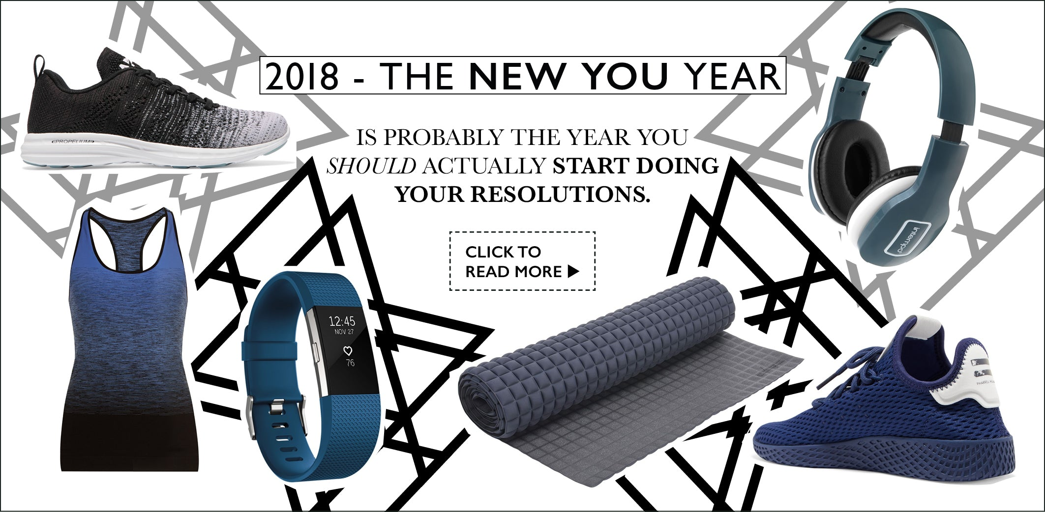 2018 New Year New You Plan