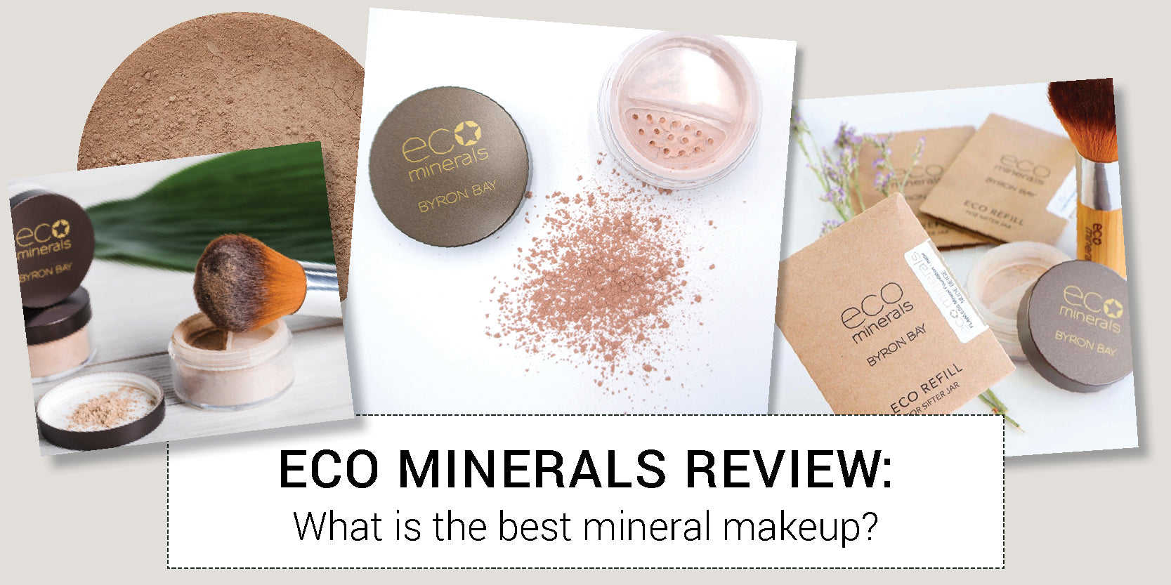 Eco Minerals Review: What is the best mineral makeup?