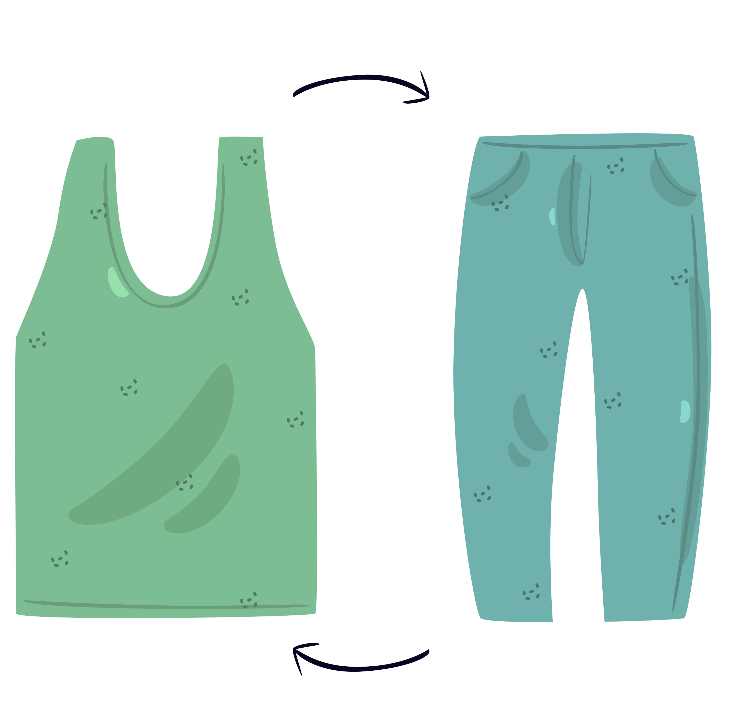 Recycle unwanted clothing - How To Live Sustainable - Eco Living and Sustainability Checklist