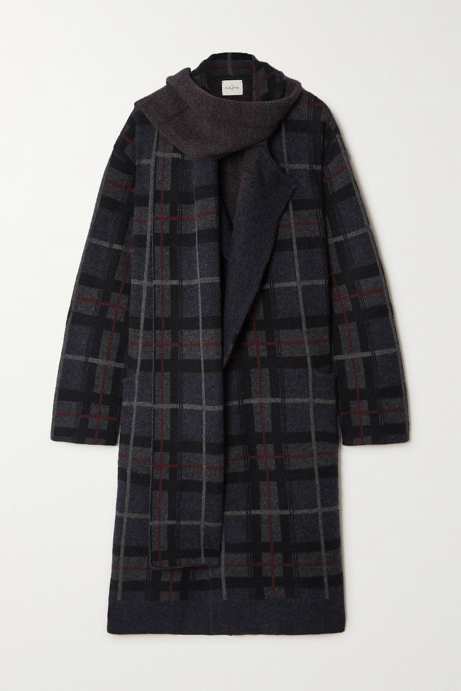 Le Kasha - Antigua checked coat