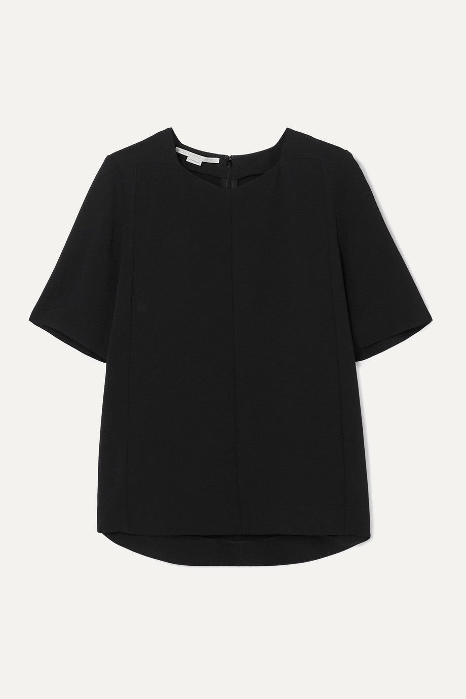 Stella McCartney - Black cady blouse top