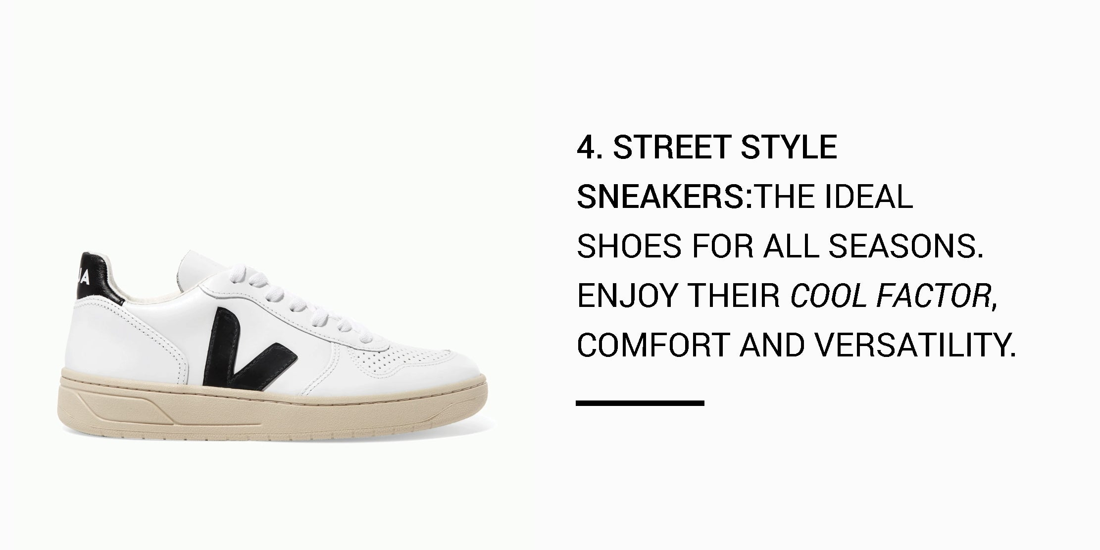 Year Round Capsule Wardrobe - 20 Essential Pieces - street style sneakers -ownmuse