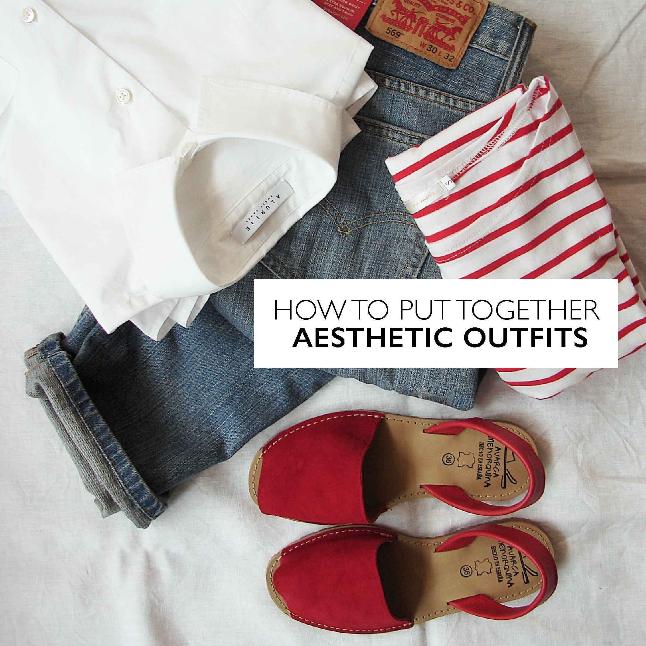 How to put together aesthetic outfits