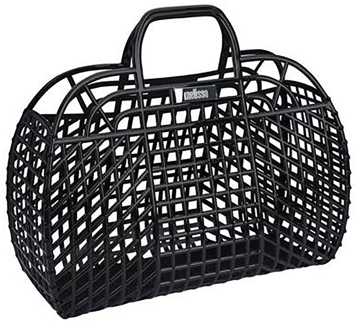 Melissa Black Basket Bag - alternative apparel sustainable ethical fashion