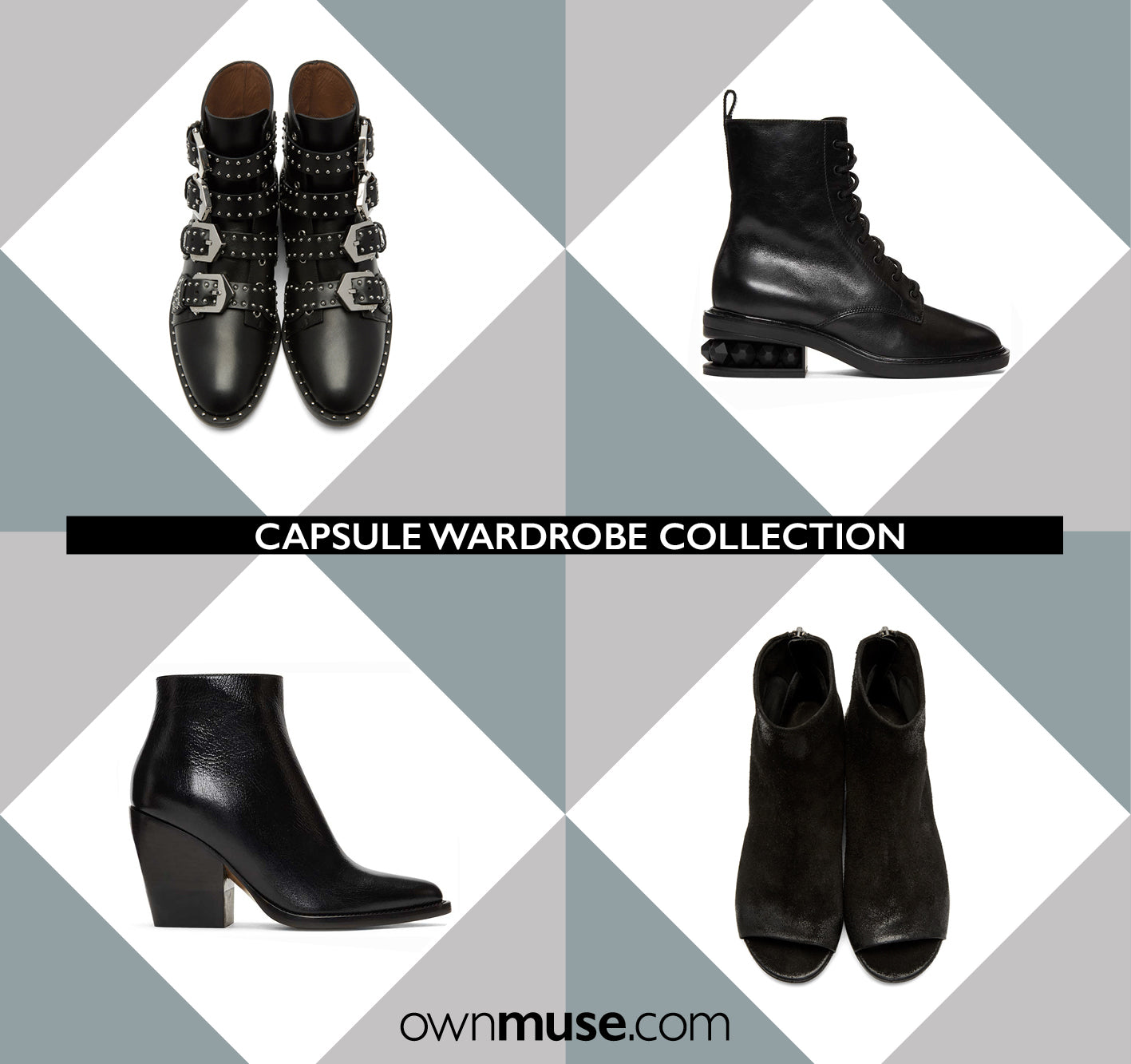 Best New Season Ankle Boots - Capsule Wardrobe Collection