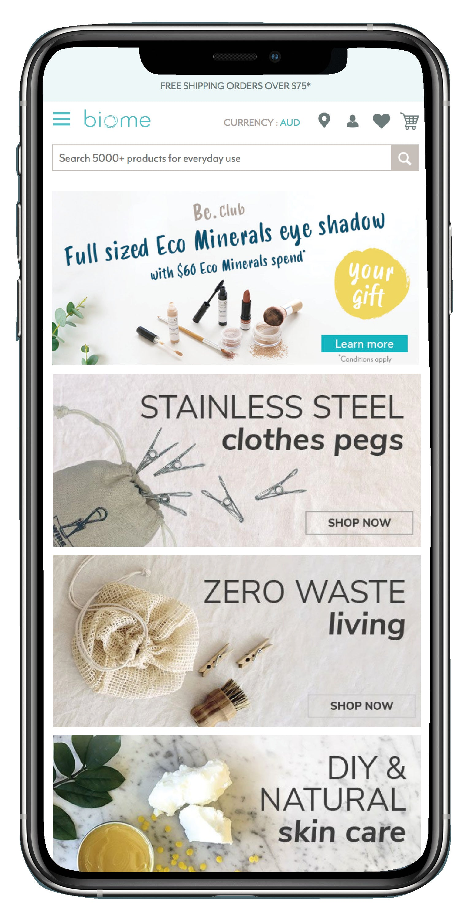 Biome - Sustainable ethical living - OwnMuse.com