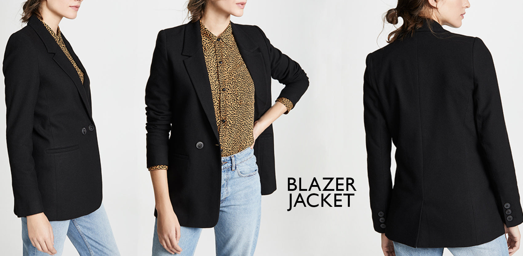 Blazer tailored jacket - Capsule wardrobe