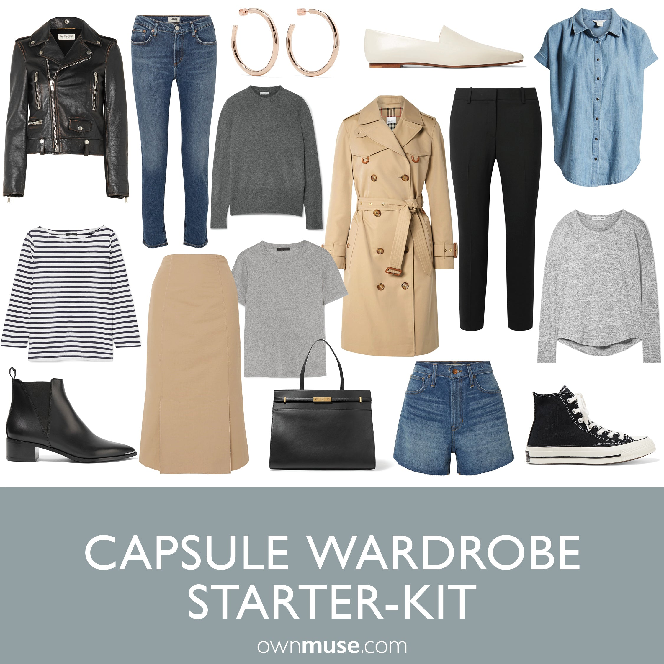 20 Piece Capsule Wardrobe Starter-Kit Guide and Checklist