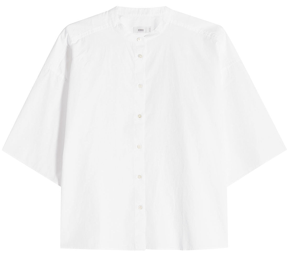 Closed - White cotton shirt