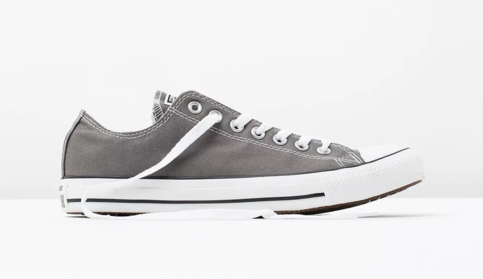 Converse - Grey low sneakers shoes