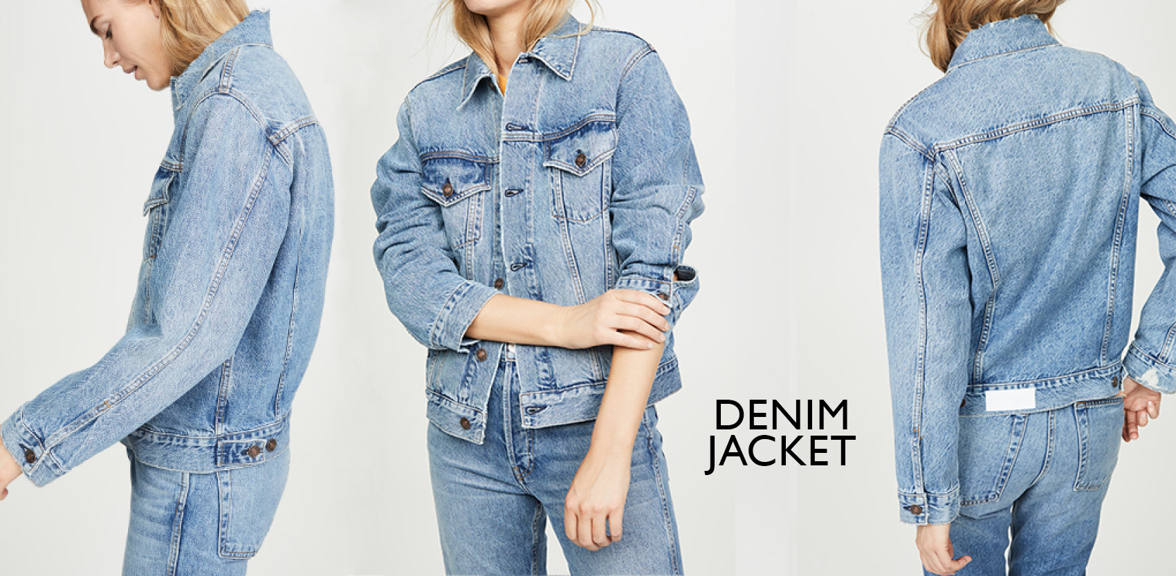 Denim jackets - Capsule wardrobe