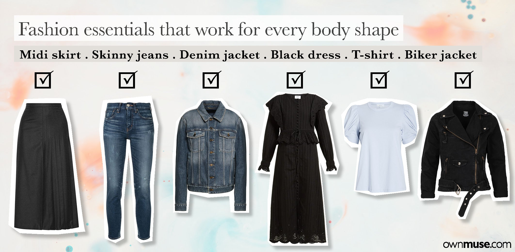 What Styles Suit My Body? Fashion essentials to suit your body shape
