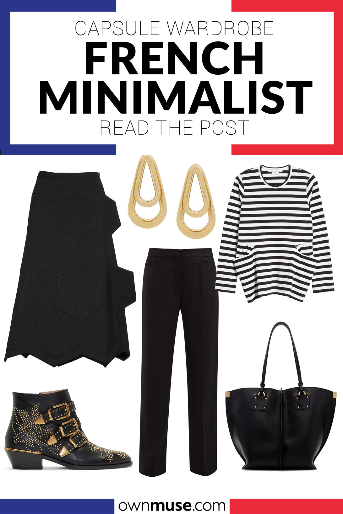 How to Build a French Minimalist Capsule Wardrobe