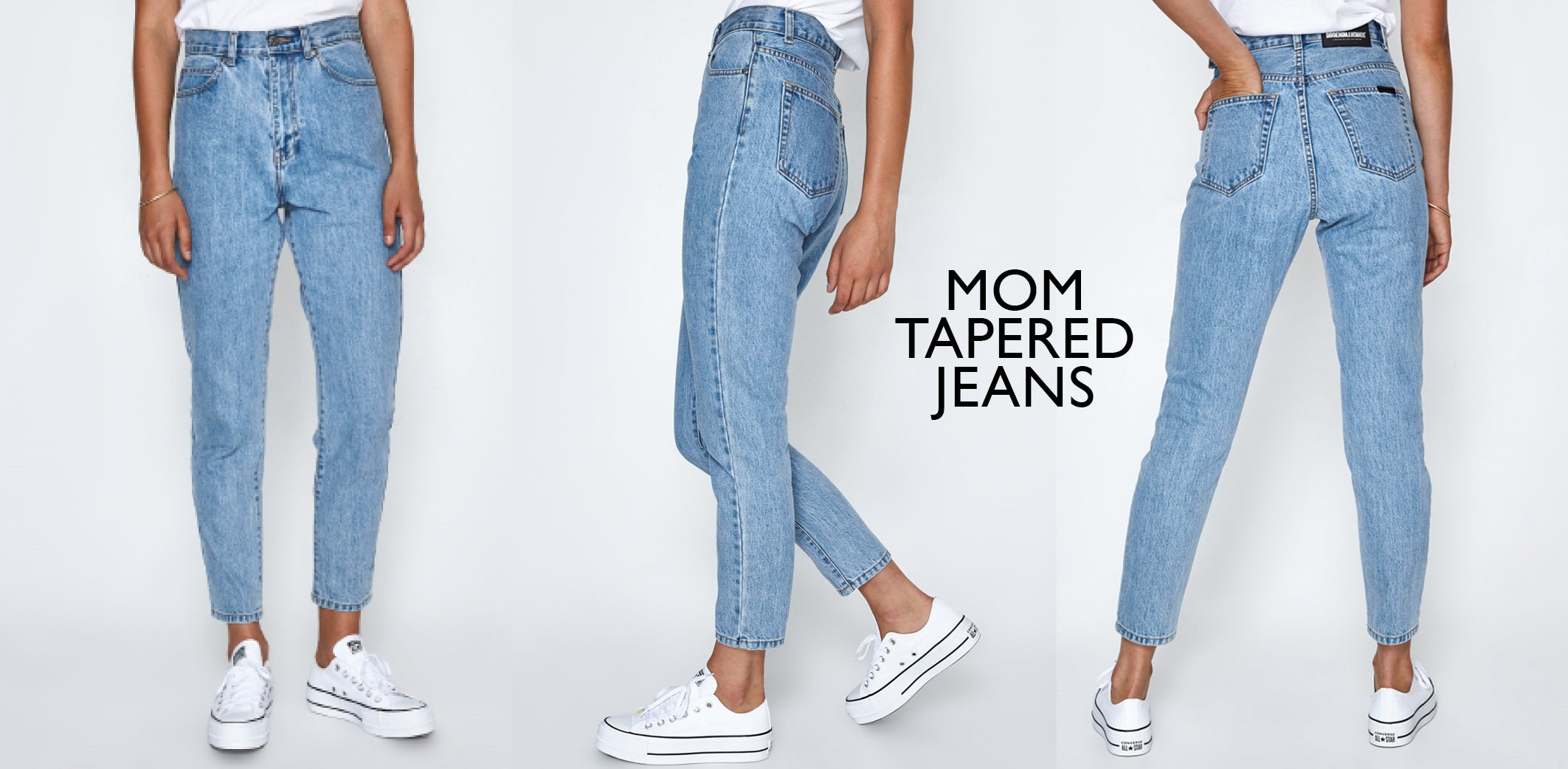 General Pants - Mom jeans Dr denim
