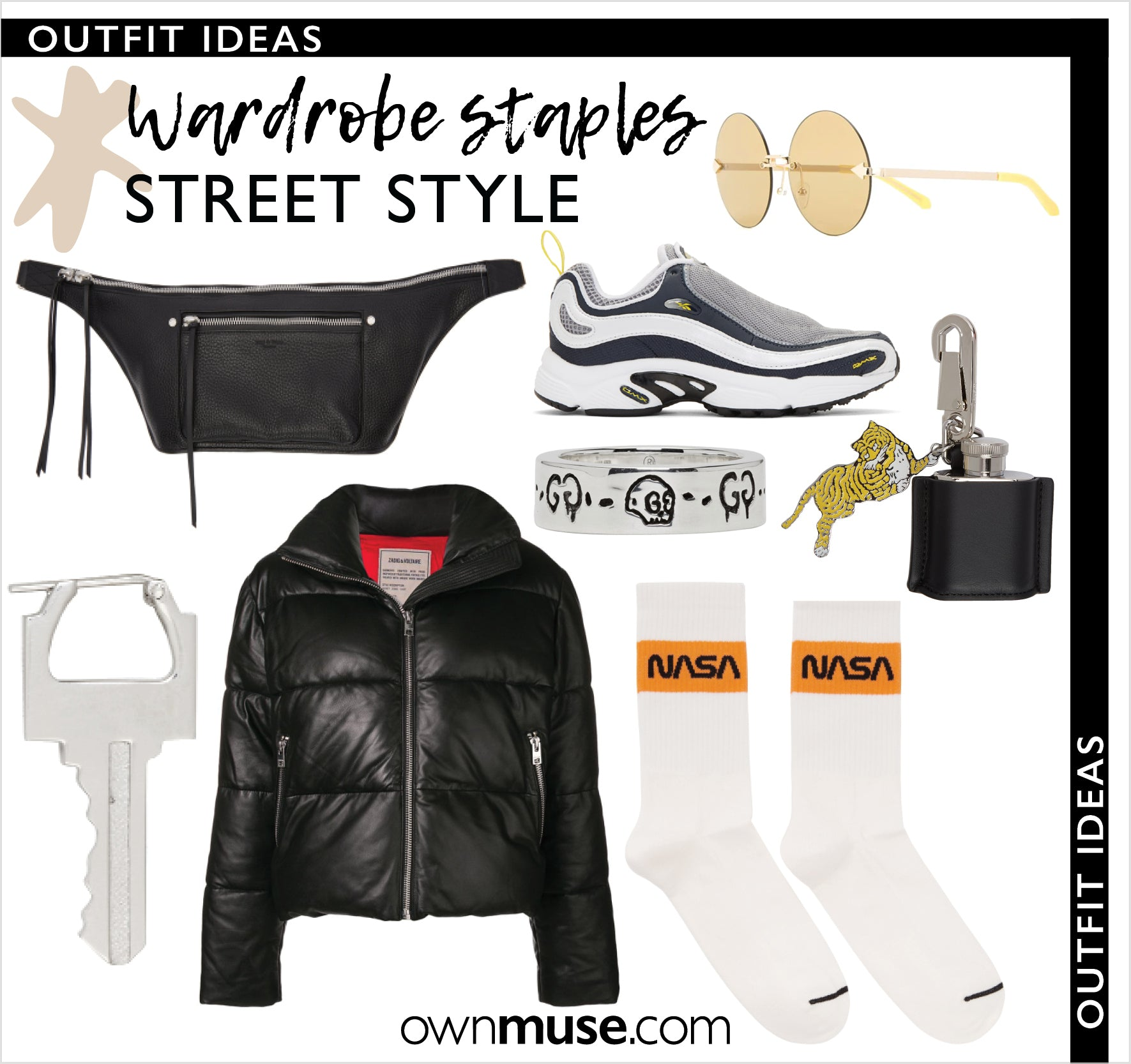 Get the  look - Outfit Ideas - Street style fashion essentials