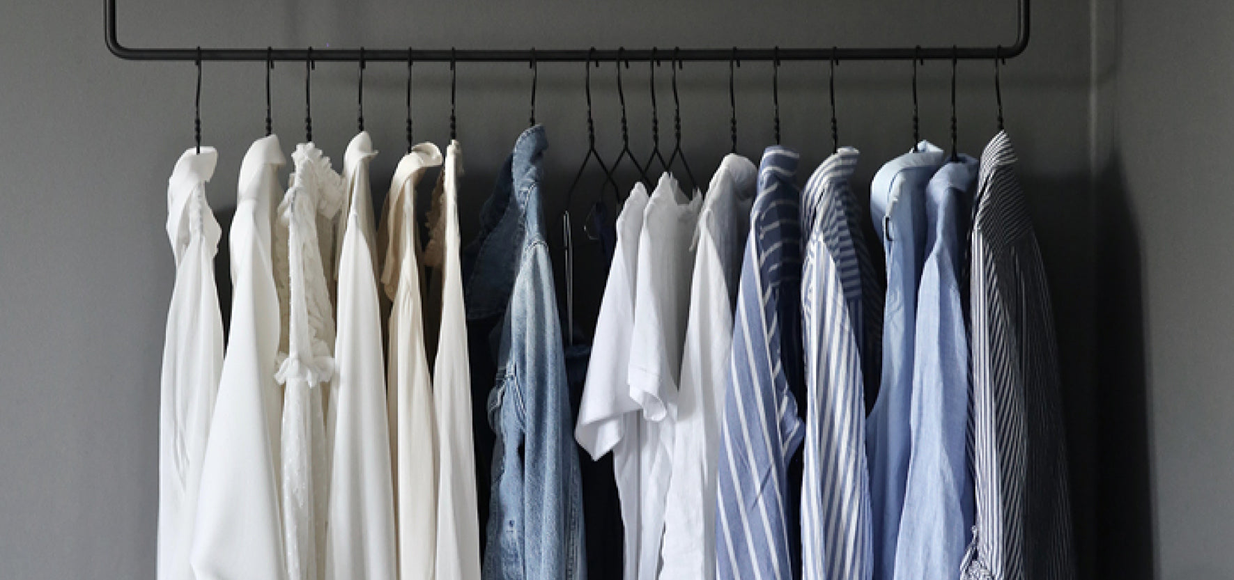 neutral clothes as part of a capsule wardrobe
