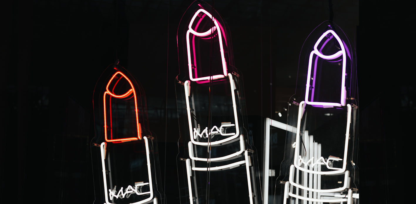 Mac - lipstick neon lights
