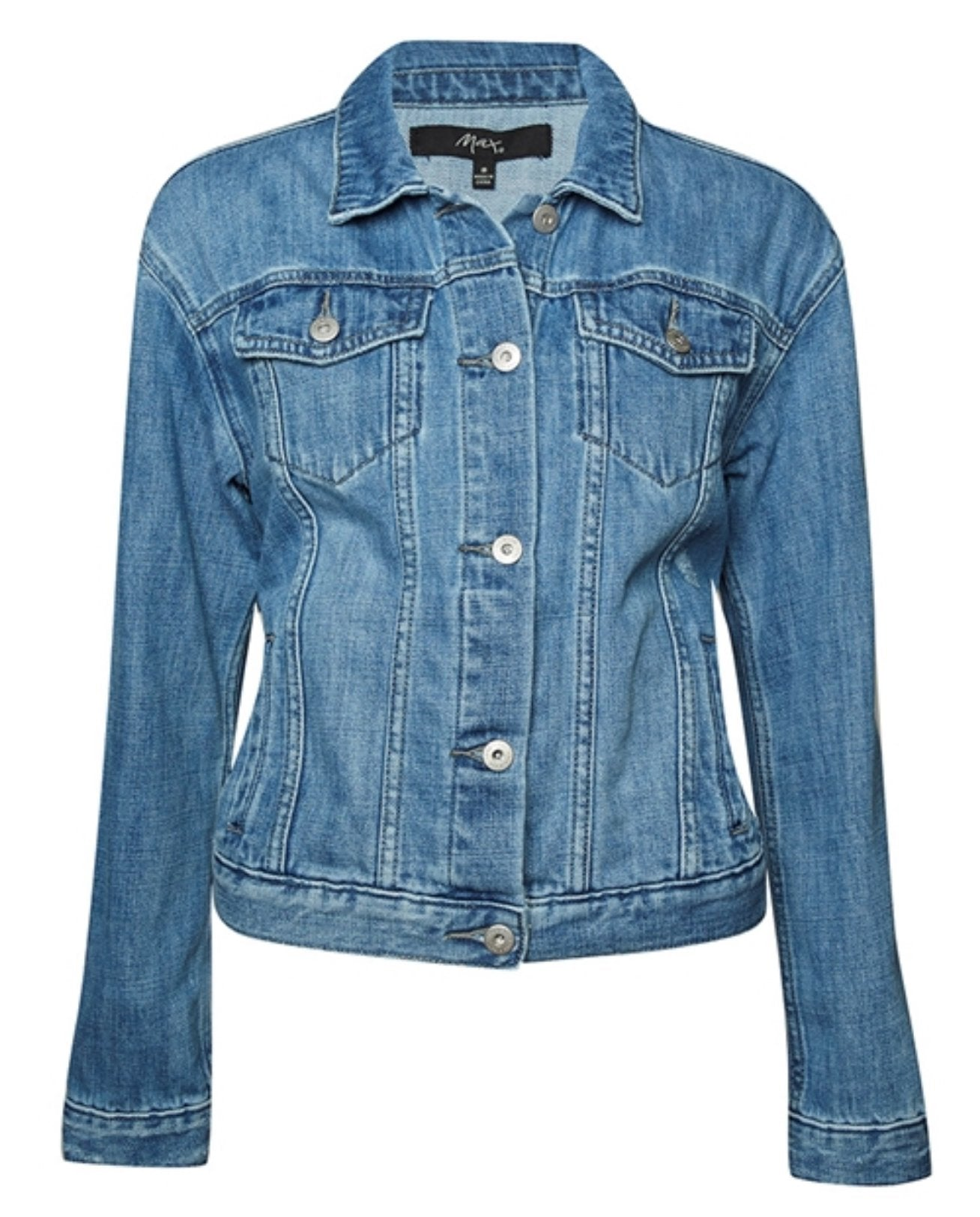 Max - Blue denim 'Harlow' jacket